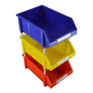 wholesale custom size large small component box heavy duty plastics storage bins parts boxes