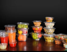 Disposable Plastic Food Containers,PET &PP cups
