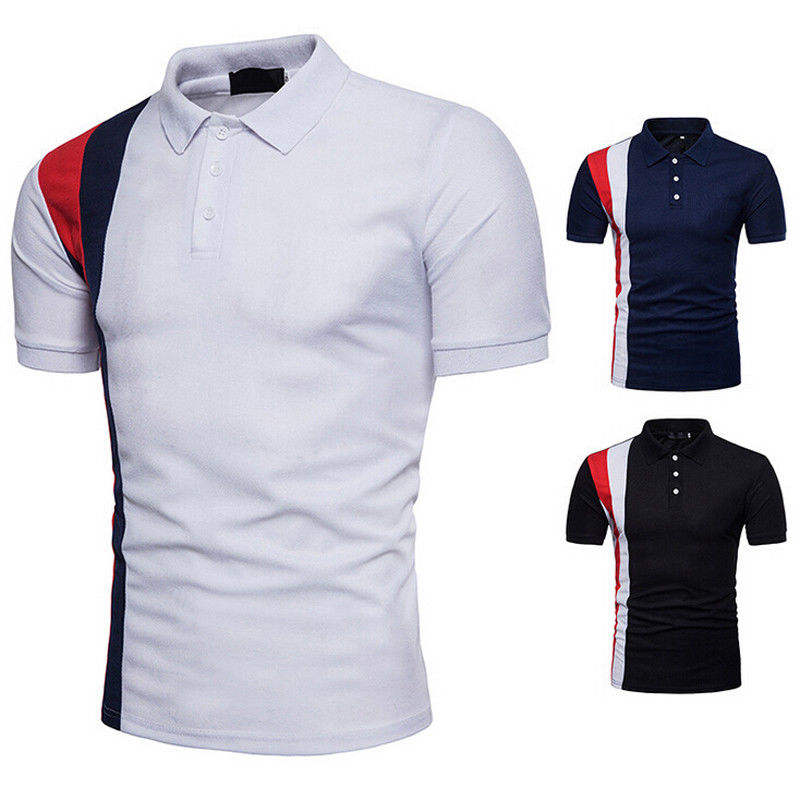 Top quality logo printing boys pique polo t shirt/ Mens Short Sleeve Polo Collar Custom Embroidery Logo T