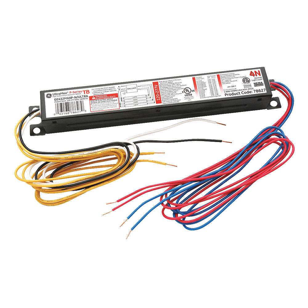 Electronic Ballast T8 Lamps 120/277V 0001