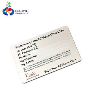 Colorful barcode pvc plastic sample gym membership card