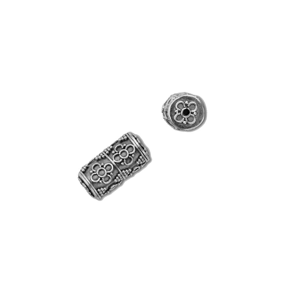 Custom Logo 925 Sterling Silver Spacer Beads Finding