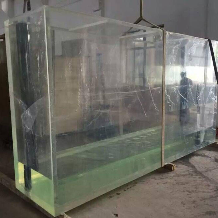 Large project custom acrylic aquarium / clear big fish tank