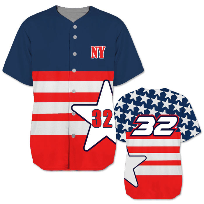 OEM custom design digital pattern sublimation baseball jerseys