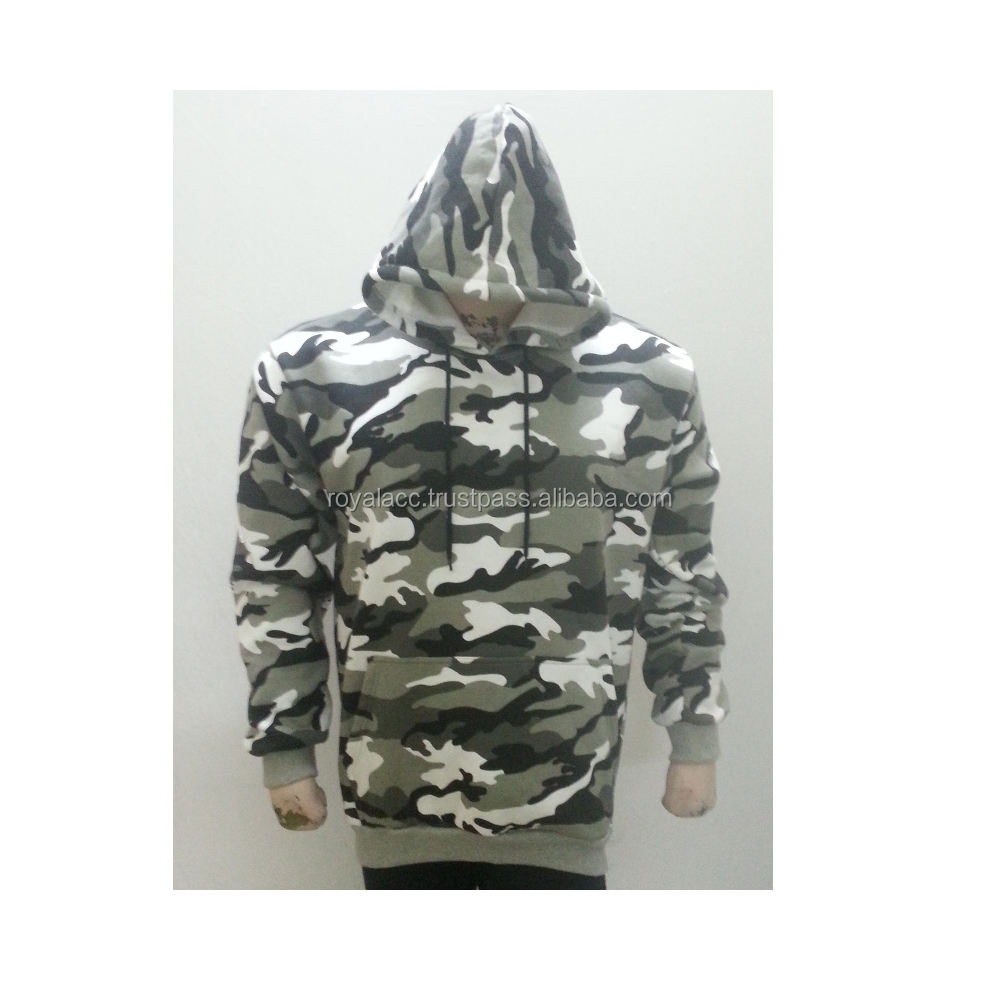 Como pullover hoodie/military commando cotton hoodies