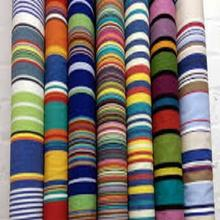 100% cotton yarn dyed stripe fabric for shirts hot sale african wax fabric muslin fabric