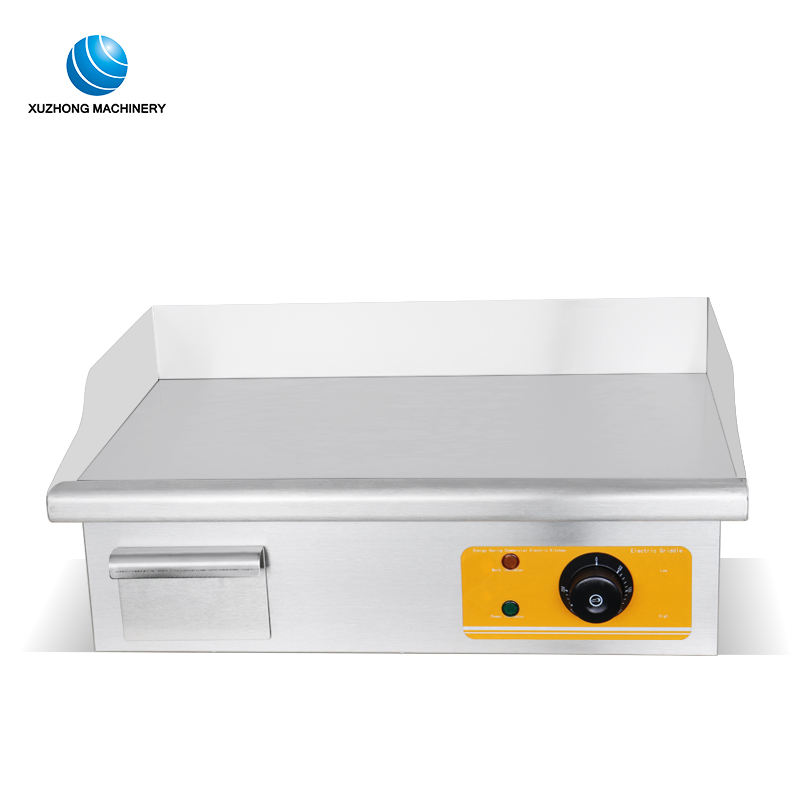 counter top portable commercial electric cast iron griddle