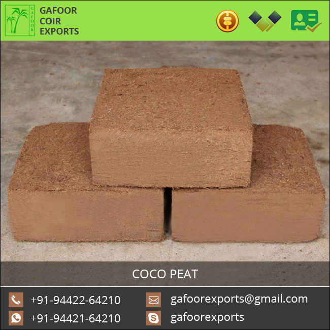 Widely Selling Coconut Husk Made Coir Pith, Coir Fiber Pith, Coir Dust