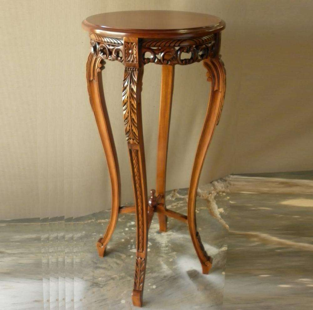 Classic Mahogany Furniture Indonesia - Victorian Planstand mahogany furniture