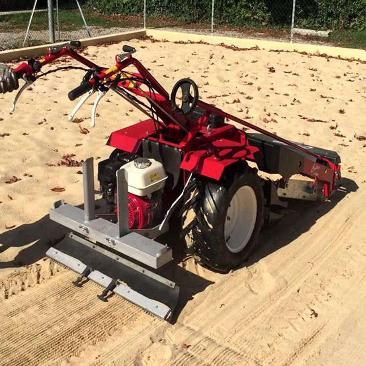 Hydraulically Controlled Vibrating Screen Sand Beach Cleaning Machines