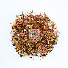 Premium Fragrant Fresh Floral Fruit Tea with Dried Flower & Fruit Pieces
