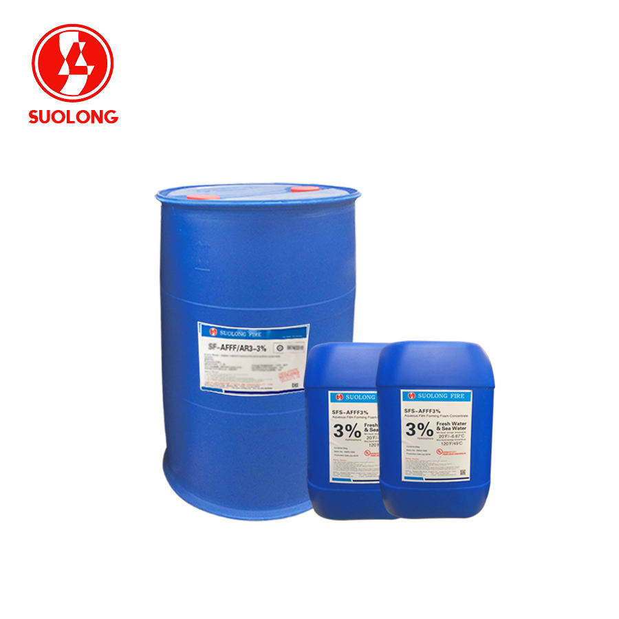 SF-FP3% SUOLONG fluoroprotein fire fighting foam concentrate