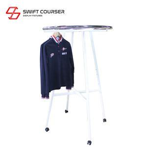 Buy Freestanding Round Hanger Stand With Custom Designs Alibaba Com