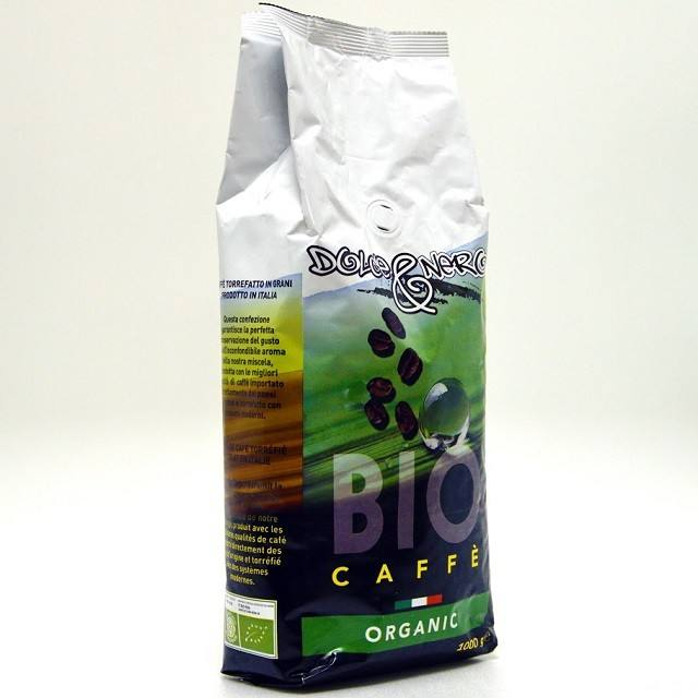 ITALIAN BIO/ORGANIC COFFEE BEANS 1 Kg.- ROASTED COFFEE