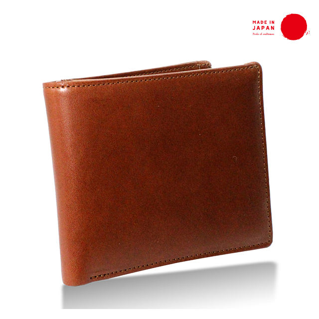 [ TOCHIGI LEATHER ] Bifold Wallet with Coin Purse - made in Japan