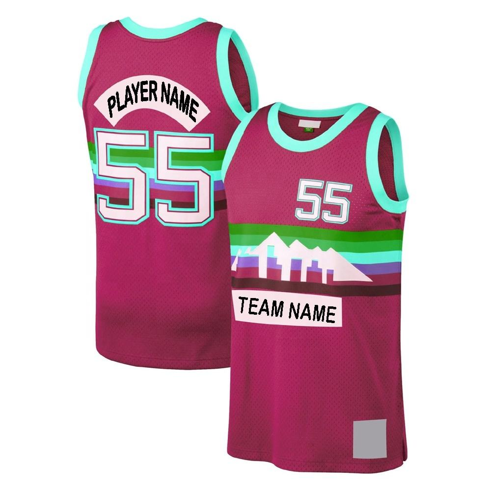 Custom Team Sublimation Reversible Basketball Sports Wear Basketball Jerseys