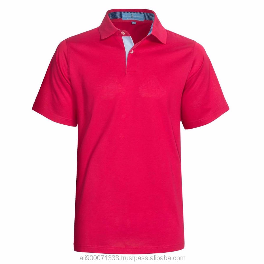 OEM High quality 100% pipe Polo T-Shirt