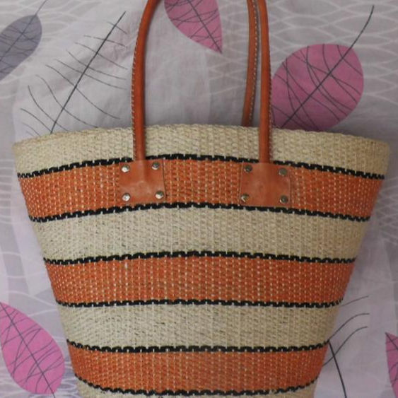 From Madagascar English Market Tote Bag Handmade