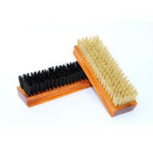 Indian Made Nylon Bristles Shoe Cleaning Brush  Natural wooden with Nylon Bristles Shoe Polish and Shoe Cleaning Brush