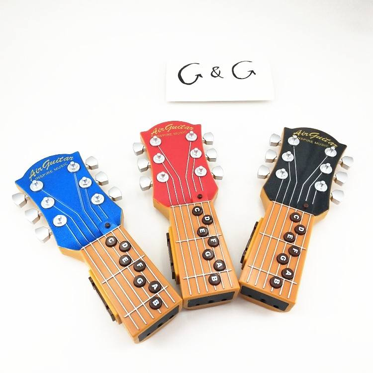 New Air Guitar Toys Plastic Kid's Miniature Toy Music Instrument Guitar with Infrared