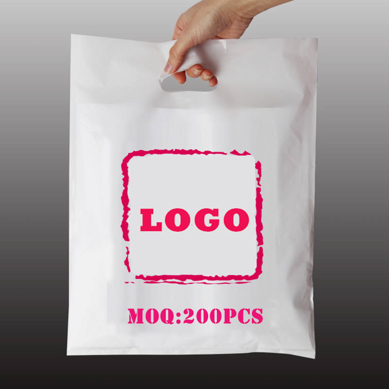 plastic bags for bank, grocery, shopping, boutique