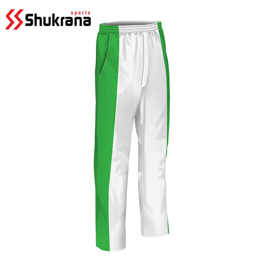 Custom Team Wear Sublimation Cricket Pant