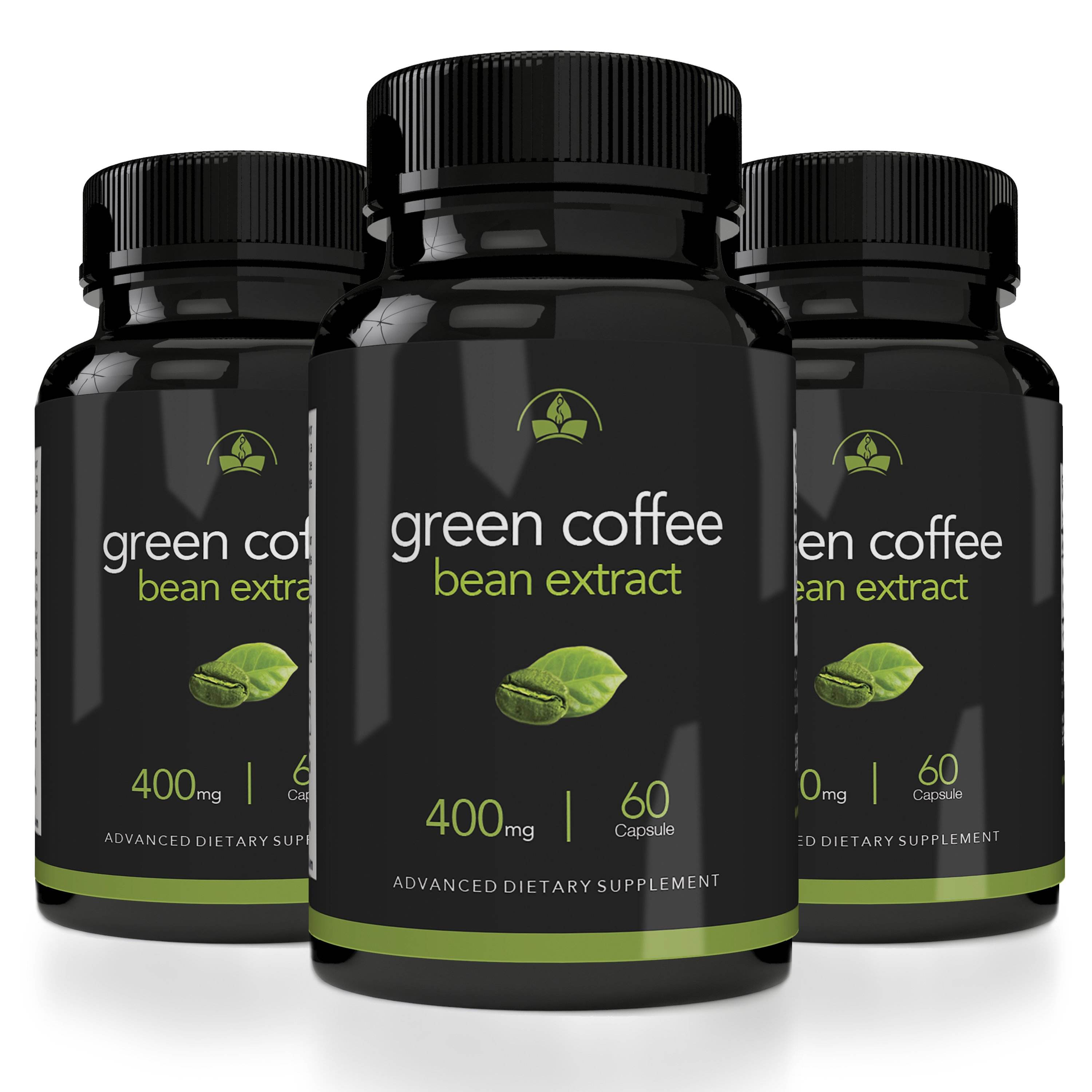 Maximum Strength Green Coffee Bean Extract 400mg Weight Loss Fat Loss