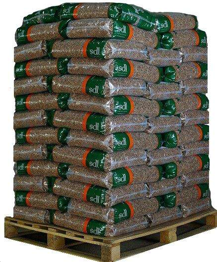 AA EN PLUS A1/A2 WOOD PELLETS