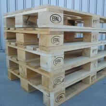 Hard Wood 4 way wooden EURO PALLET EUR/ EPAL PALLETS