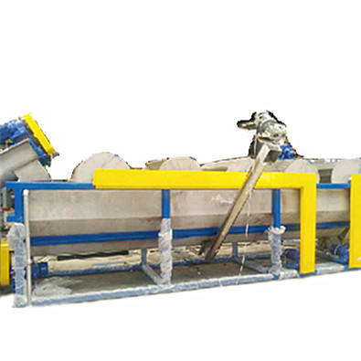 Hot Sell Polystyrene PET Plastic Recycling Machine