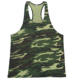 Men Camouflage Color Camo Gym Fitness Singlet Tank Top