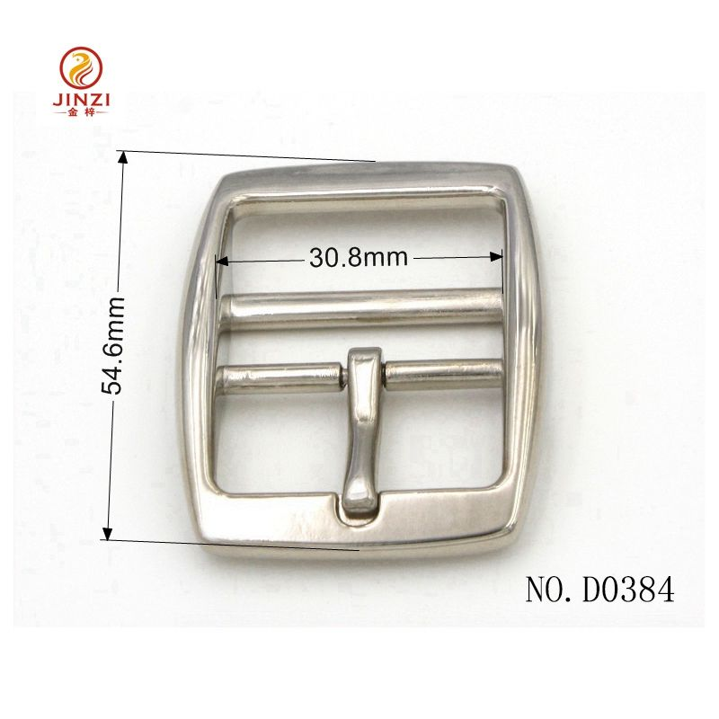 High Quality Double Eyes Buckle Customize Double Bar Pin buckle