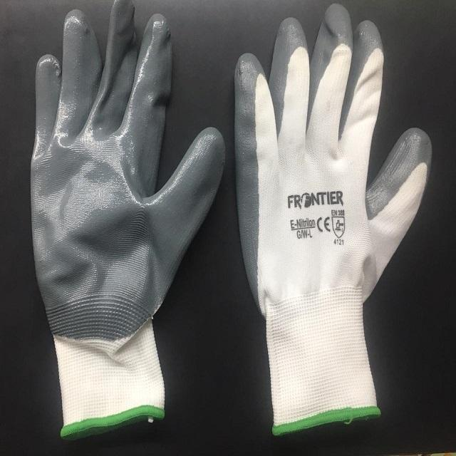Cut Resistence Nitrile Cotaed Gloves