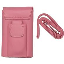 Nice Design Mobile Purse / Ladies Leather Wallets With Cell Phone Pocket / Professional Women Zipper Wallets