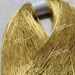 gold french coil wire bullion thread