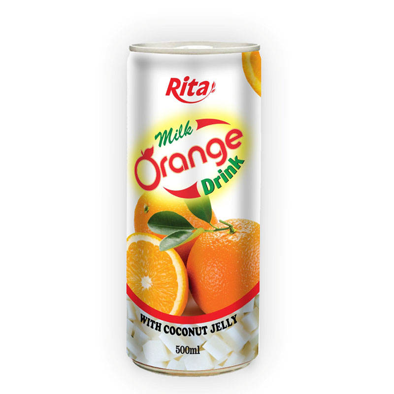 250ml Orange Milk Drink