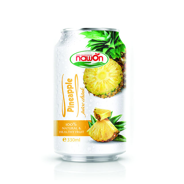 330ml NAWON NFC sugar free pineapple juice drink