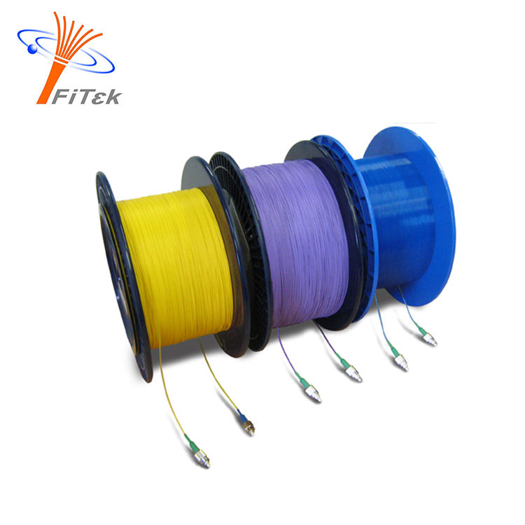 Pigtail cable hytrel semi tight buffered fiber