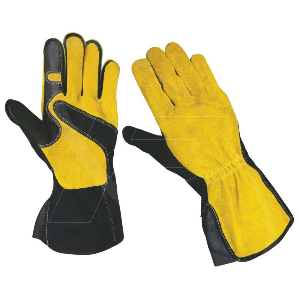 Leather Tig Welding Gloves / Argon Gloves in Cow Leather / Cowhide Leather Tig Welding Gloves