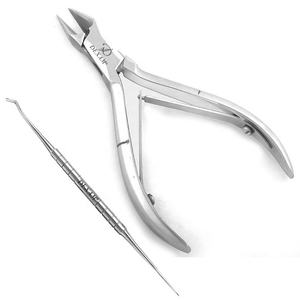 DEXAM - ingrown toenail clipper with nail lifter nail nippers cutter nail care set private label podiatry instruments