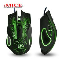 X9 gaming mouse RGB lighting wireless USB computer mouse