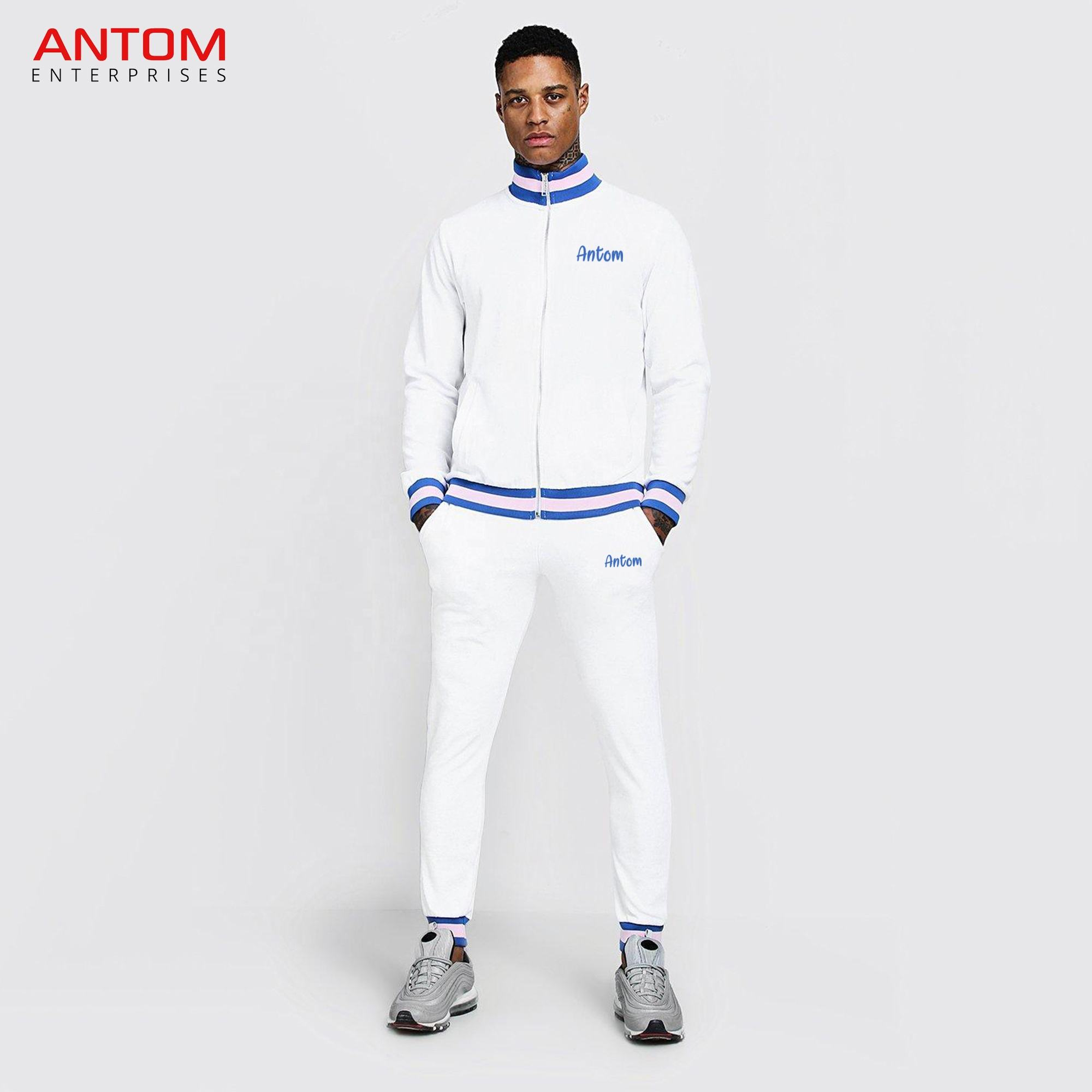 High Quality Pullover Tracksuit For Men / Polyester Nylon Track Suit / New Design Track Suit Made by Antom Enterprises