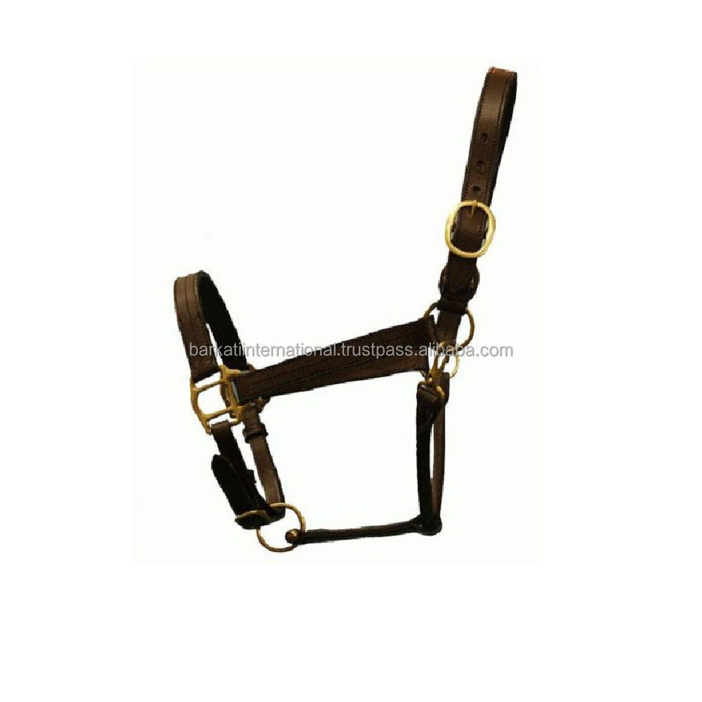 leather cow halters