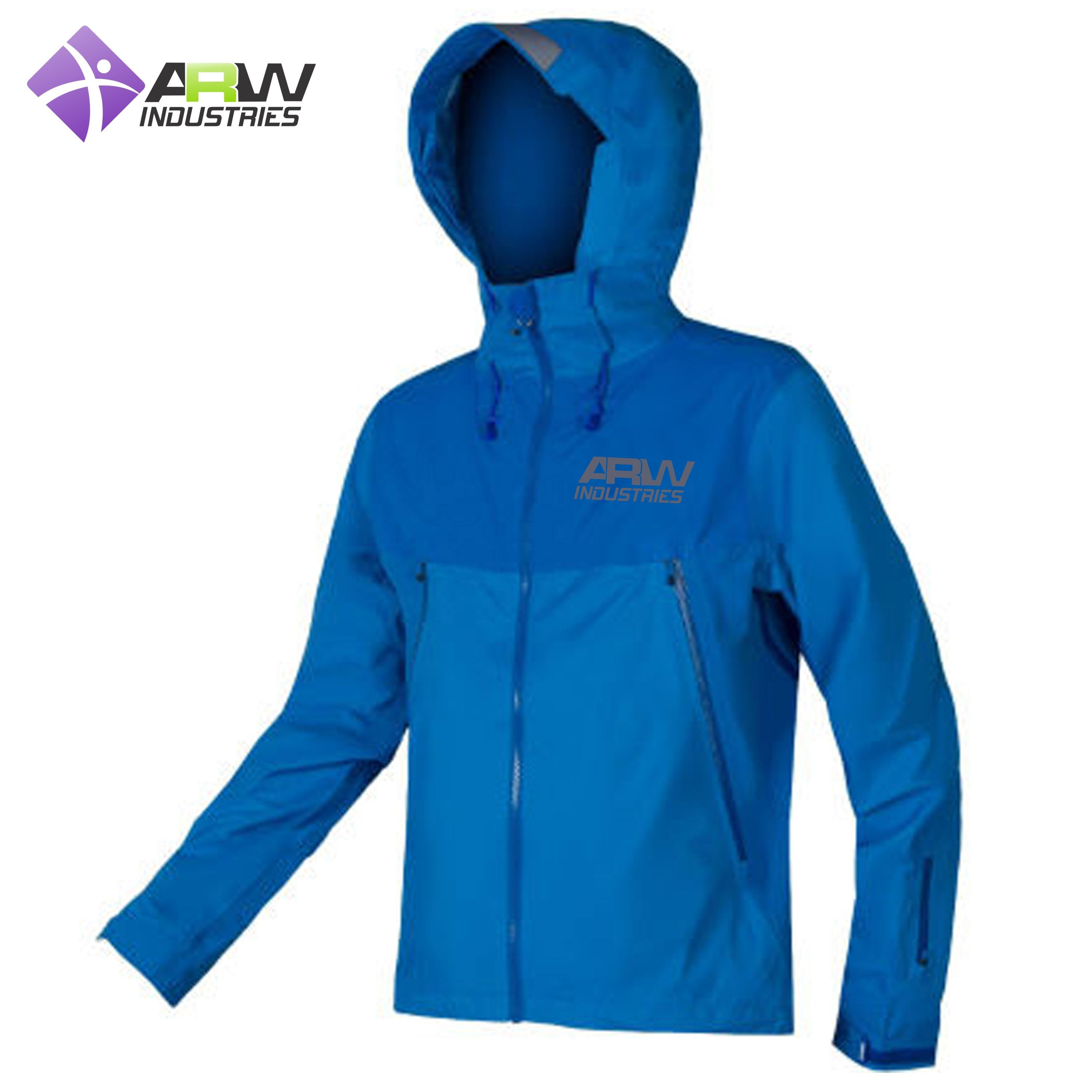 CUSTOM MADE CYCLING WATER PROOF JACKETS WIND PROOF JACKETS
