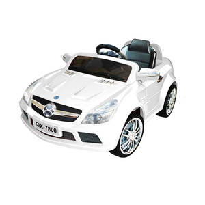 RED R/C MP3 KIDS RIDE ON CAR ELECTRIC BATTERY TOY QX-7800