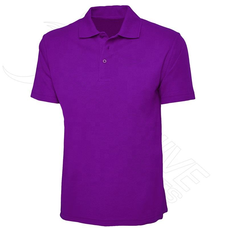 Custom polyester golf polo tee shirt