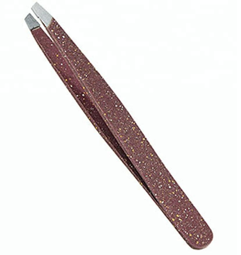 best quality cosmetic eyebrow manicure tweezers in all kinds of color