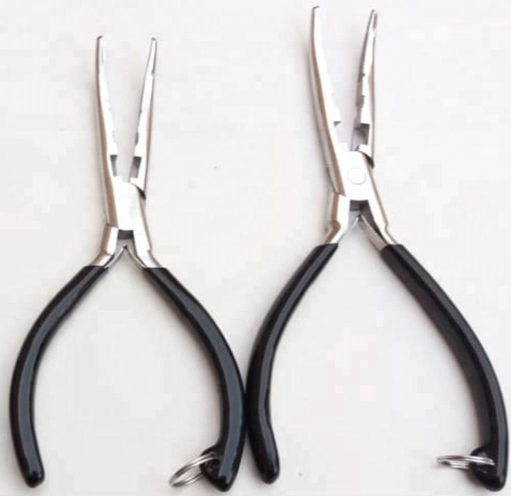 Wholesale Factory Price Fishing Pliers Stainless Steel multi purpose pliers fishing line ring split pliers