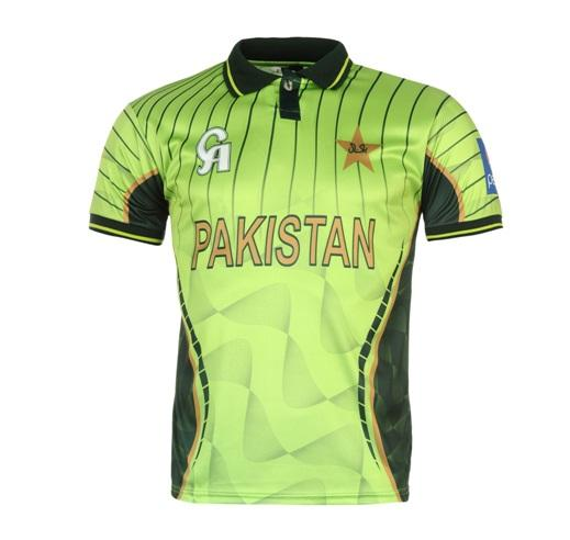 Pakistanische Team Cricket Shirt Cricket Uniform