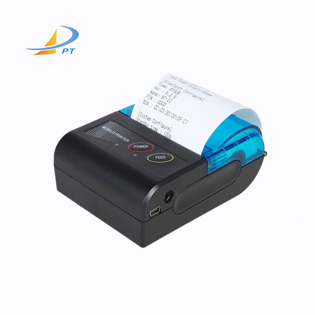 Handheld mobile 58mm mini thermal android bluetooth price bill printer